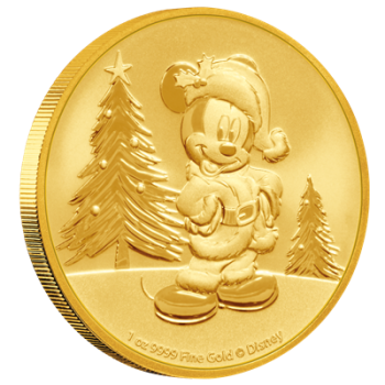 Münze: Disney Mickey Mouse Christmas 2019
