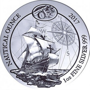 Münze: Nautical Ounce Santa Maria 2017
